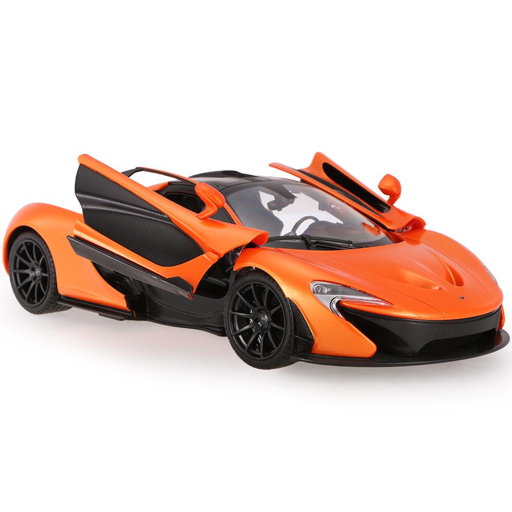Masina cu telecomanda Rastar McLaren P1 1:14. Portocaliu
