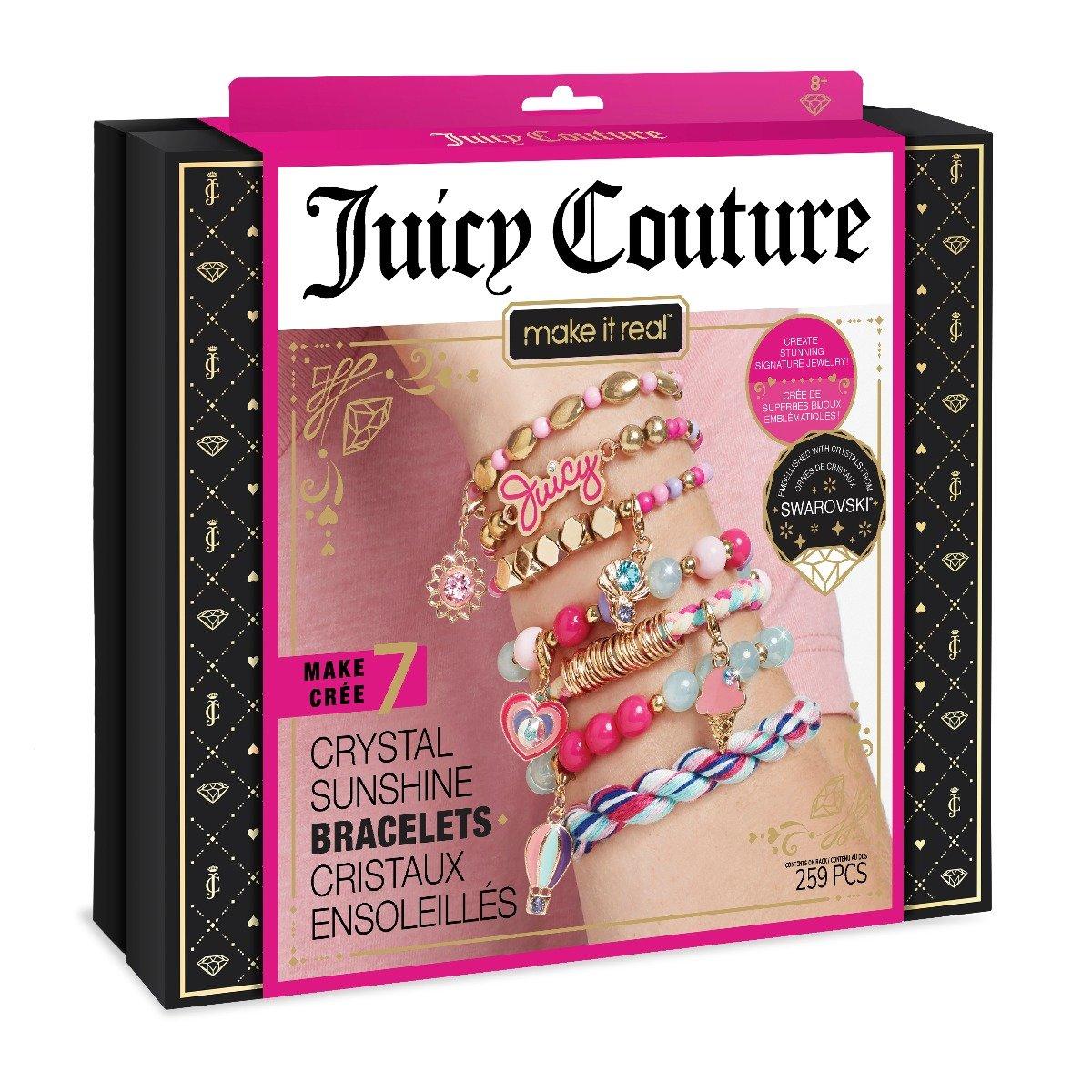 Set de creatie Maket it Real Juicy Couture Summer Passion. Bratari