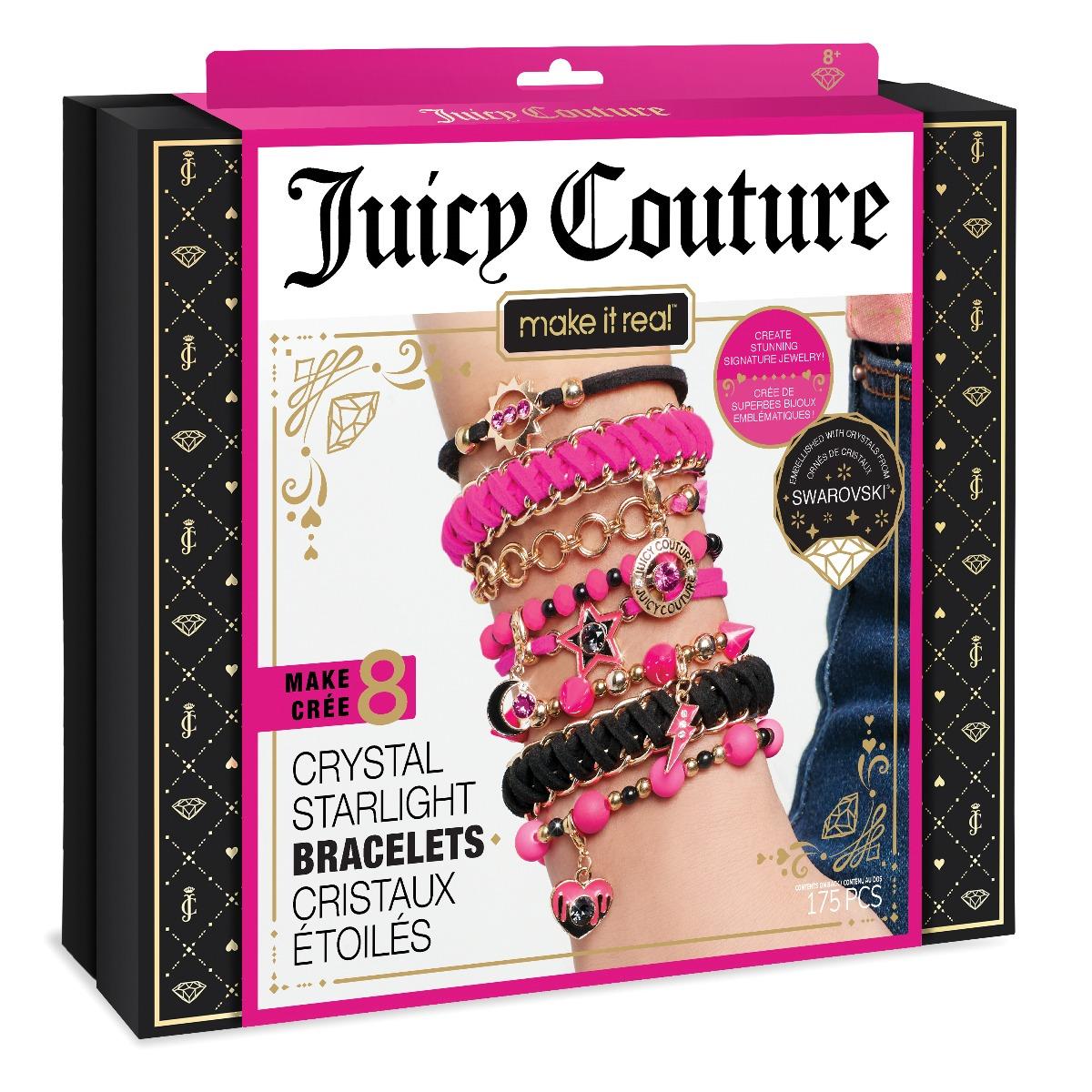 Set de creatie Maket it Real Juicy Couture. Bratari Neon