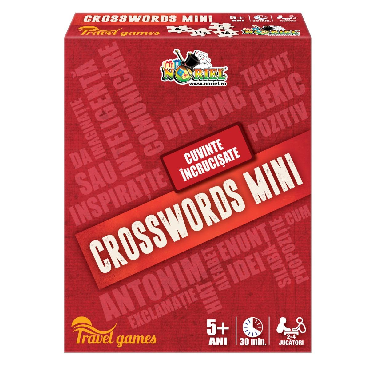 Joc de societate Crosswords Mini Noriel