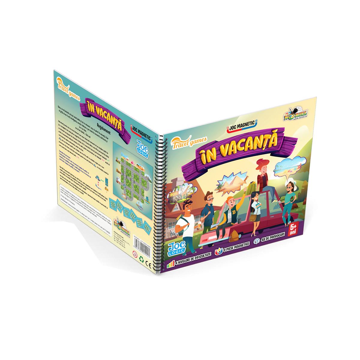 Joc magnetic interactiv Noriel Games. In vacanta