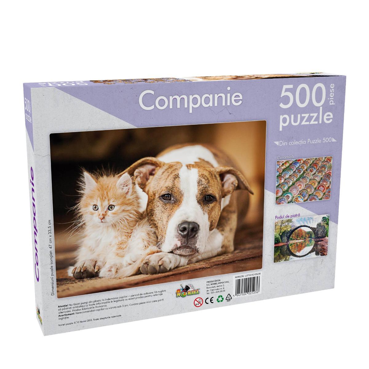 Puzzle Noriel - Companie. 500 piese