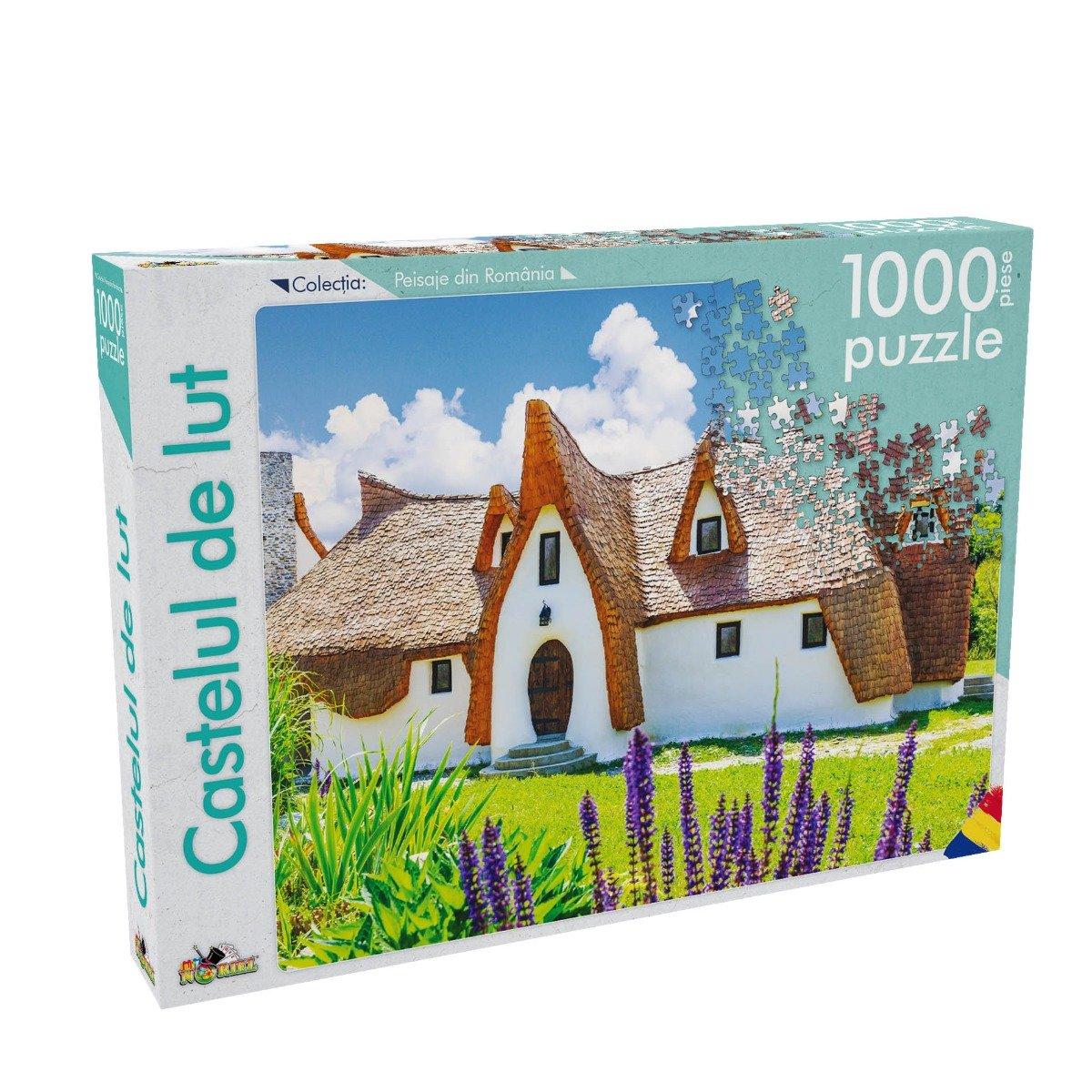 Puzzle Noriel - Peisaje din Romania - Castelul de lut. 1000 piese