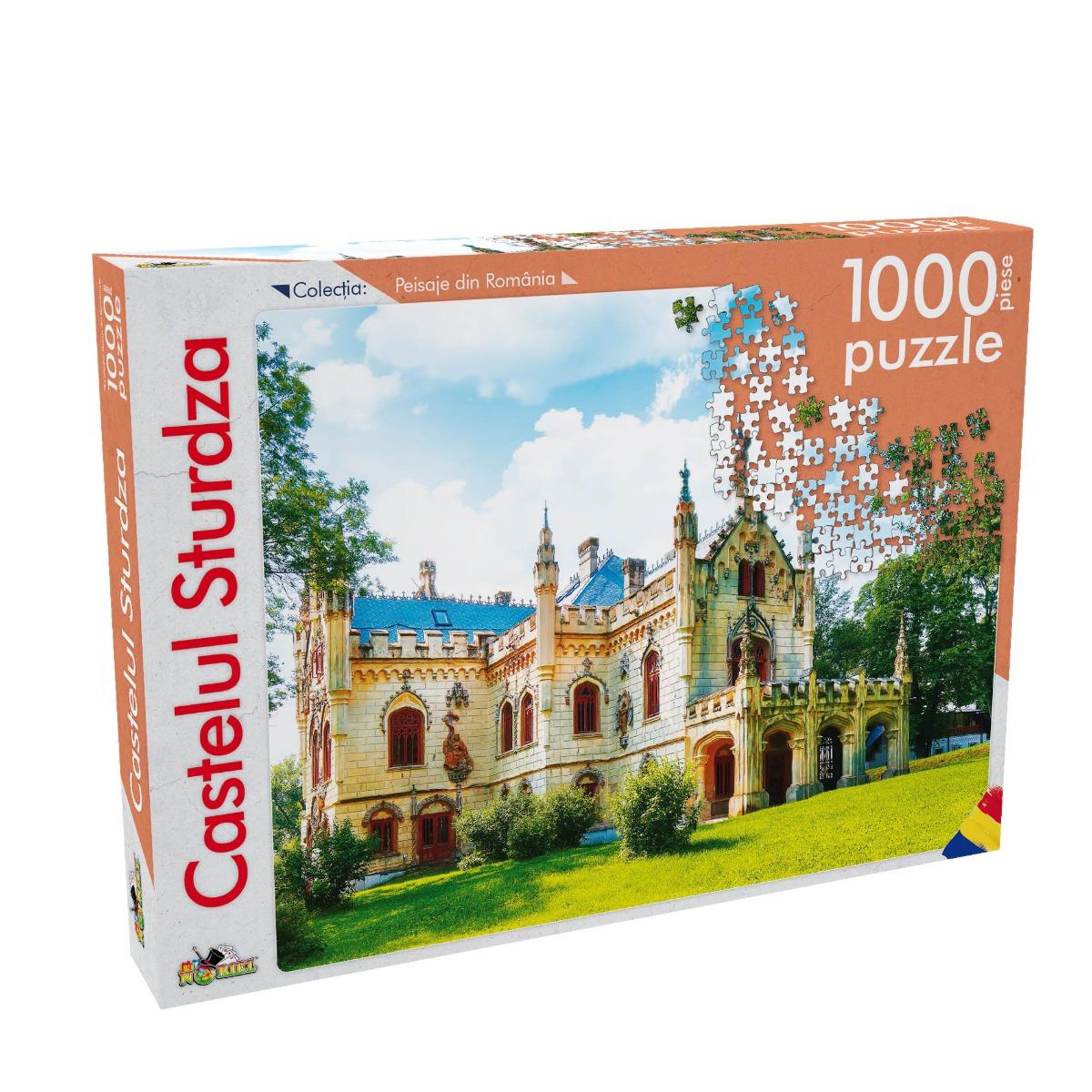 Puzzle Noriel - Peisaje din Romania - Castelul Sturdza. 1000 Piese