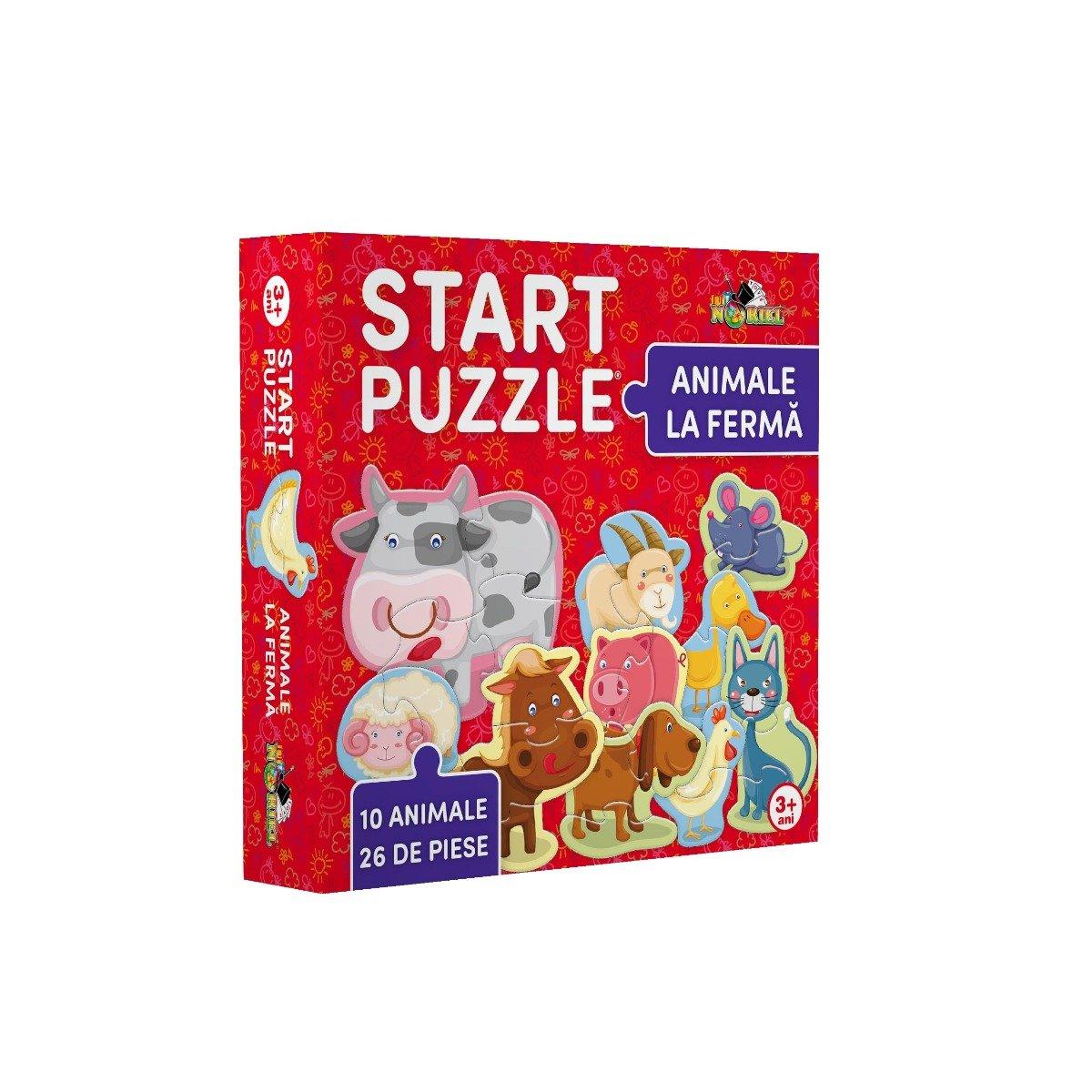 Noriel Puzzle - Start Puzzle. Animale la ferma