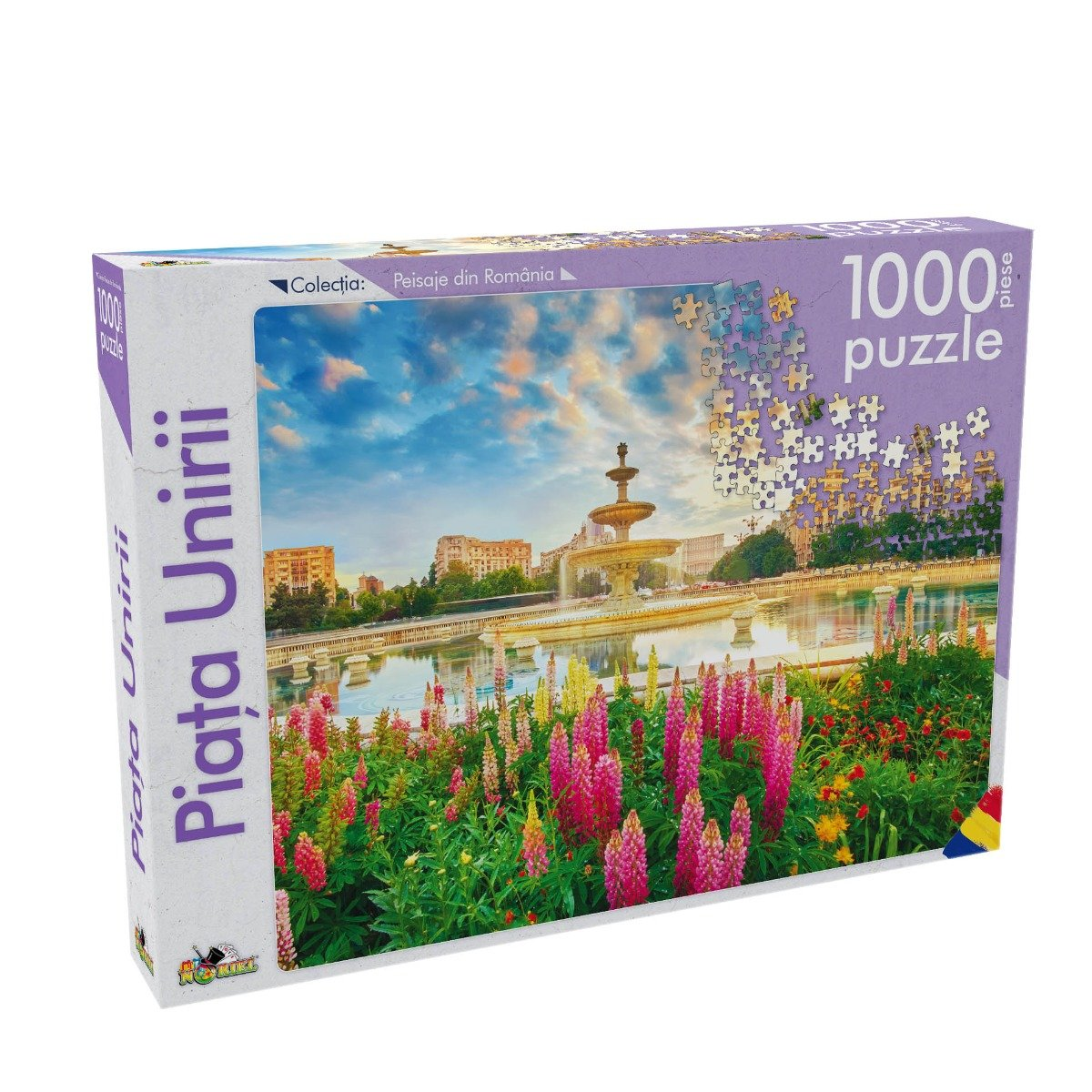 Puzzle Noriel - Peisaje din Romania - Piata Unirii. 1000 Piese