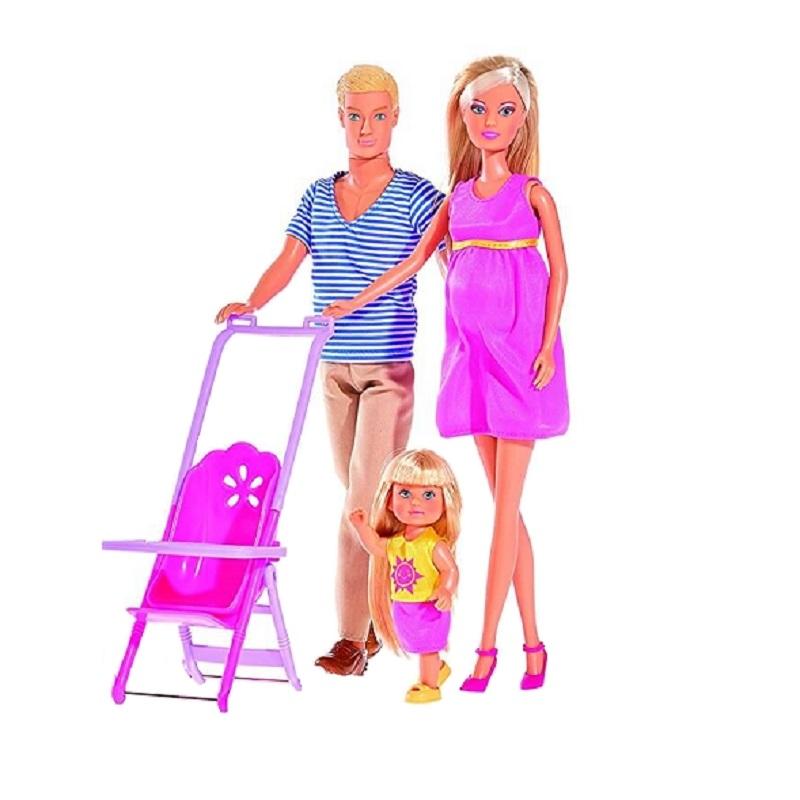 Papusa Steffi Love - Familie fericita