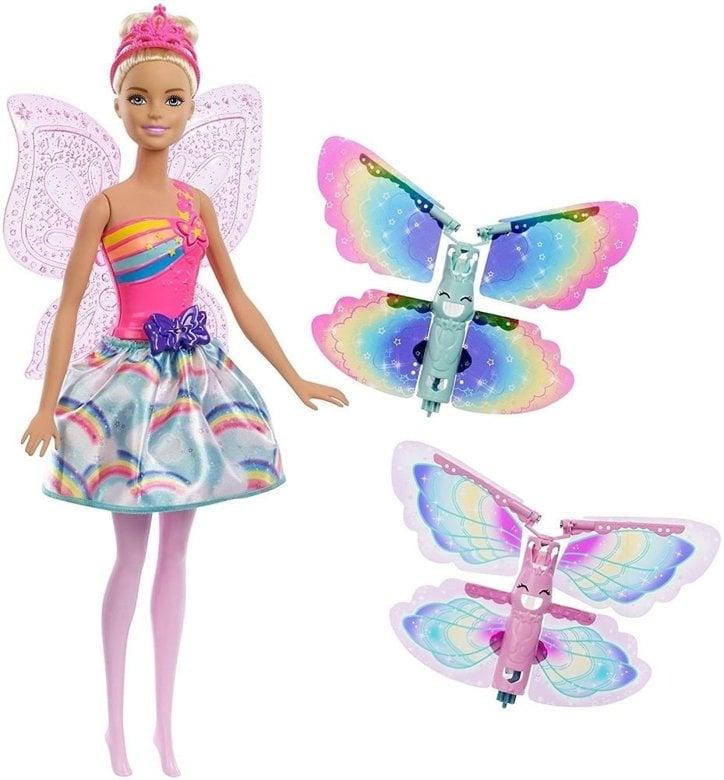 Papusa Barbie Zana Zburatoare Dreamtopia
