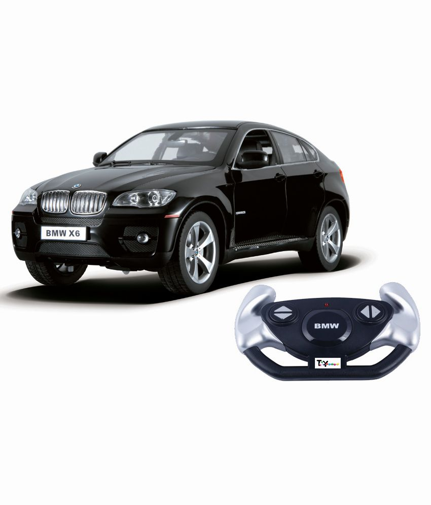 Masina cu telecomanda Rastar BMW X6 1:14. Negru