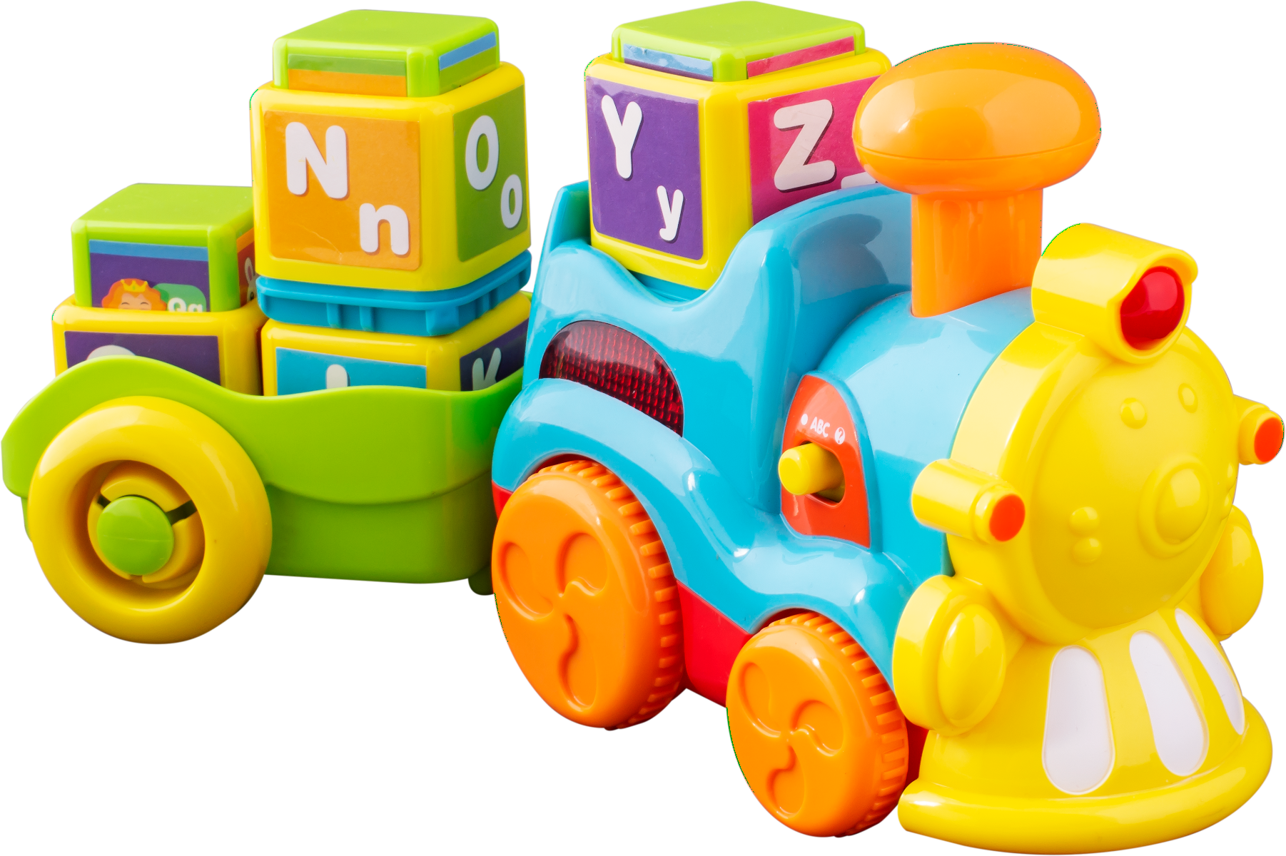 Noriel Bebe - Trenuletul cu litere. Jucarie Bebelusi